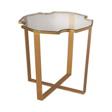 Cutout Top Side Table
