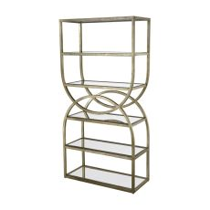 Intersecting Rounds Bookcase
