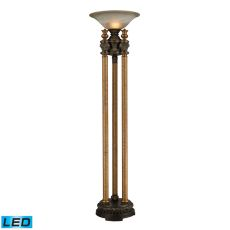 Athena Led Torchiere In Athena Bronze