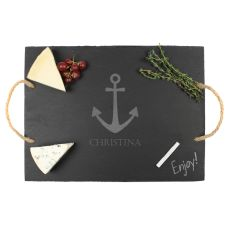 Personalized Anchor Slate Serving Board