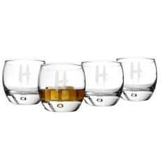 Personalized Spooky 10.75 Oz. Heavy Based Whiskey Glasses