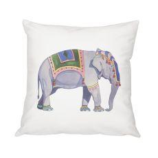"""16"""" Elephant Throw Pillow"""