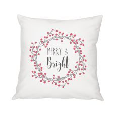 """16"""" Merry And Bright Throw Pillow"""