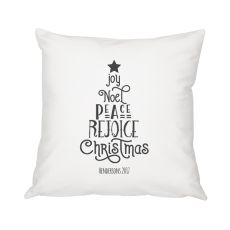 "Personalized Christmas Tree 16"" Throw Pillow"