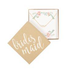 Bridesmaid Three Pearl Bracelet, Gold