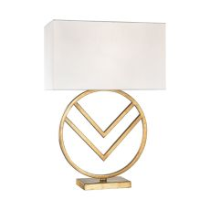 Munich 1 Light Table Lamp In Gold Leaf