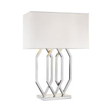 Munich 1 Light Table Lamp In Polished Nickel