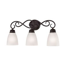 Chatham 3 Light Bath Bar In Oil Rubbed Bronze