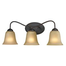 Conway 3 Light Bath Bar In Oil Rubbed Bronze