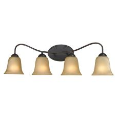 Conway 4 Light Bath Bar In Oil Rubbed Bronze
