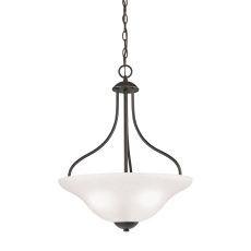 Conway 3 Light Large Pendant In Oil Rubbed Bronze