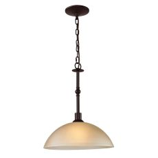 Jackson 1 Light Large Pendant In Oil Rubbed Bronze