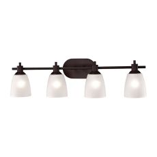 Jackson 4 Light Bath Bar In Oil Rubbed Bronze