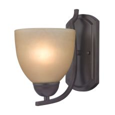 Kingston 1 Light Wall Sconce In Oil Rubbed Bronze
