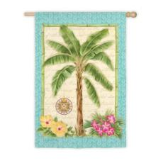 Palm Tree Garden Flag