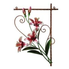 Metal Wall Decor -Tiger Lily