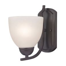 Kingston 1 Light Sconce In Oil Rubbed Bronze