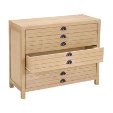 4-Drawer Flat File Cabinet