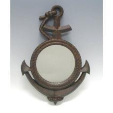 Rusty Anchor Mirror