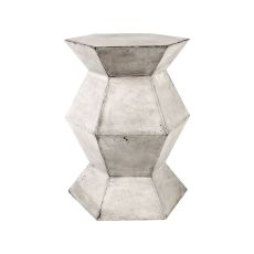 Flanery Waxed Concrete Accent Table