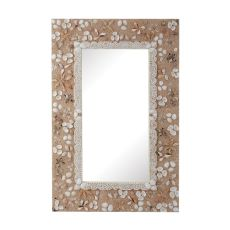 Rectangular Shell Mirror