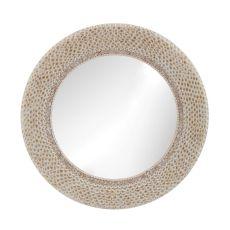 Ribbed Ring Shell Mirror