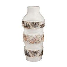 Terracotta Shell Vase