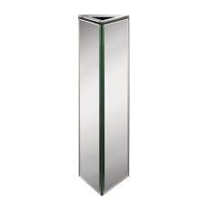 Triangular Mirrored Vase - Large