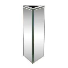 Triangular Mirrored Vase - Small