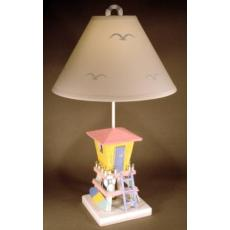 Lifeguard Shack Lamp