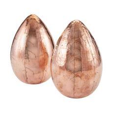 Copper Metallic Eggs