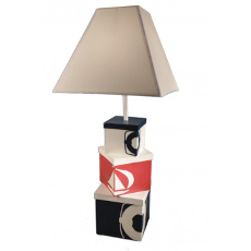 Nautical Stacked Boxes Lamp