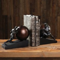 Weight of the World Bookends S/2