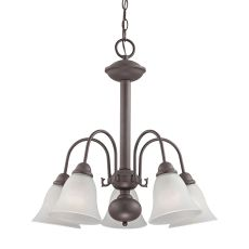 Bellingham 5 Light Chandeier In Oil Rubbed Bronze
