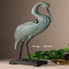 Keanu, Heron Sculpture