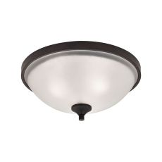 Arlington 3 Light Flush Mount In Oil Rubbed Bronze