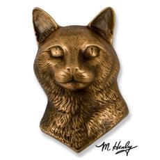 Beach Dog /  Cat Door Knocker-Bronze