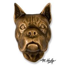 Beach Dog /  Boxer DogKnocker-Bronze