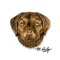 Beach Dog / Golden Retriever DogKnocker-Bronze