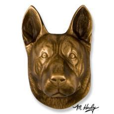 Beach Dog /  German Shepherd DogKnocker-Bronze