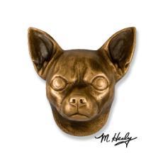 Beach Dog /  Chihuahua DogKnocker-Bronze
