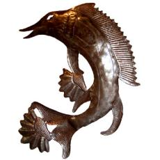 Marlin Fish Sculpture