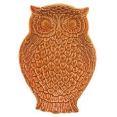 Owl Dish, Rust