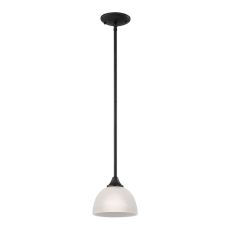 Bristol Lane 1 Light Pendant In Oil Rubbed Bronze