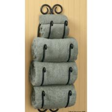 Iron Bathroom Towel Holder