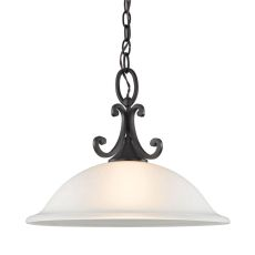 Hamilton 1 Light Pendant In Oil Rubbed Bronze
