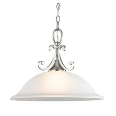 Hamilton 1 Light Pendant In Brushed Nickel