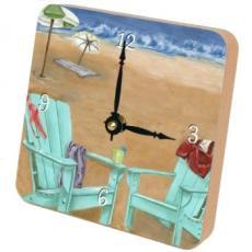 Beach V Clock