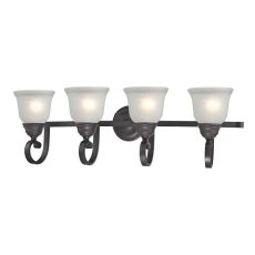 Hamilton 4 Light Bath Bar In Oil Rubbed Bronze