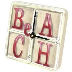 Beach IV Clock